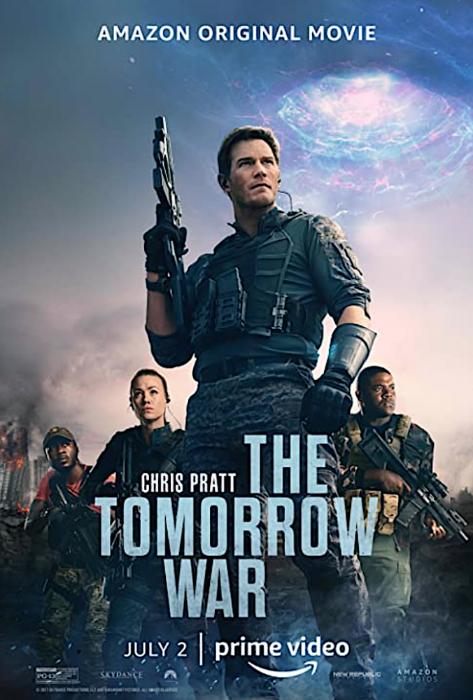 """""""星爵""""基斯帕拉特新电影《The Tomorrow War》在疫情期间也遭盗版下载。"""